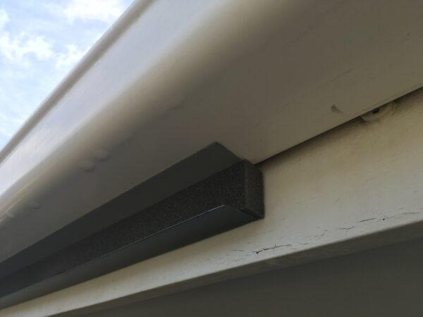 Back-channel-foam-polycarboante-roof