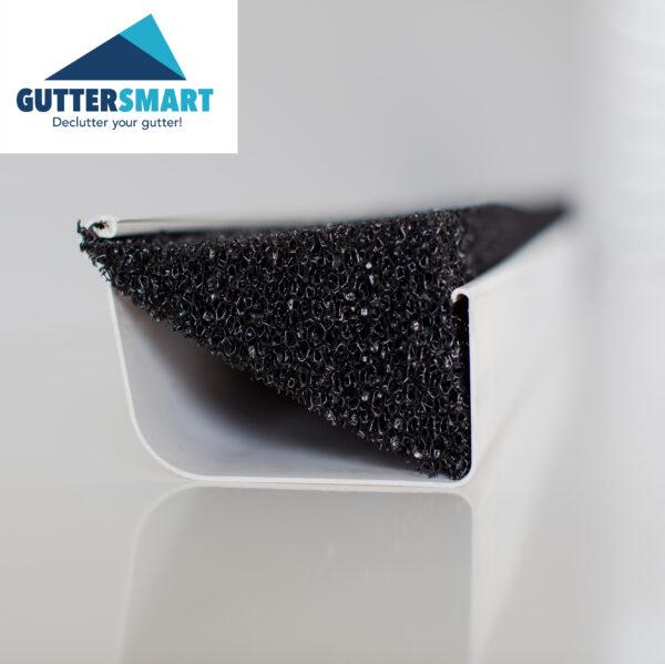 Gutter-foam-insert-in-gutter-logo