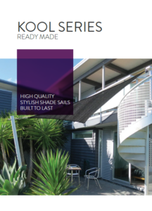 Kool Series shade sails brochure from Sunnyside thumbnail