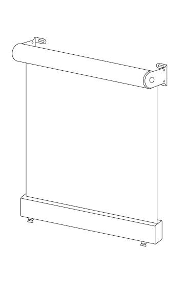 Omni Lite diagram cafe blinds