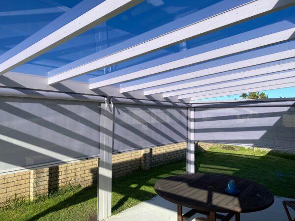 Outdoor blinds from Sunnyside