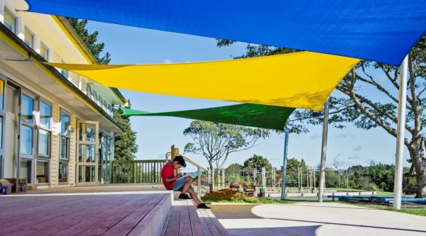 Outdoor canpies and shade sails for schools NZ from Sunnyside