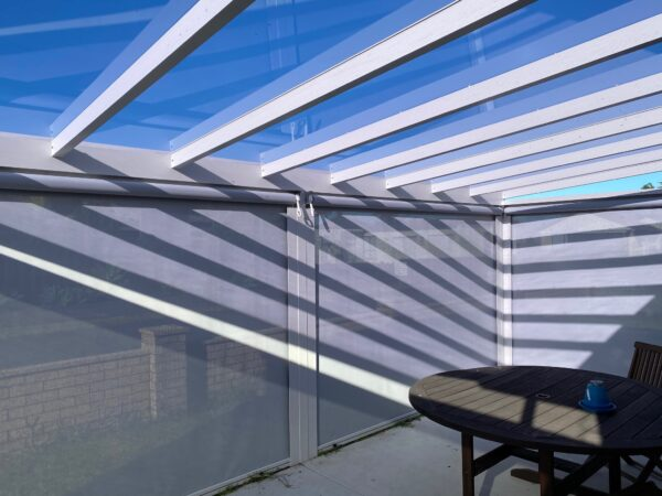 Patio blinds from Sunnyside