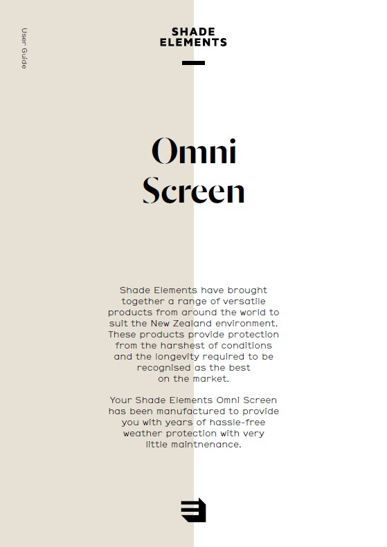 Omni Screen outdoor blind userguide-icon