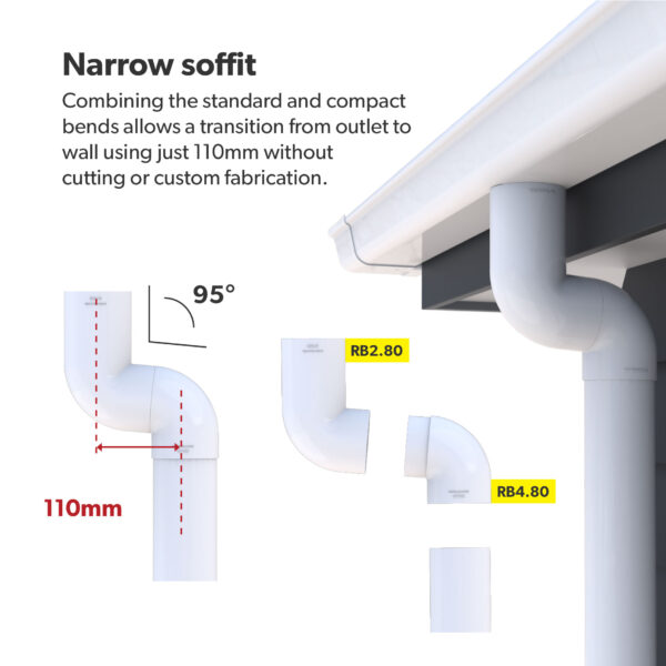 Marley narrow soffit configuration
