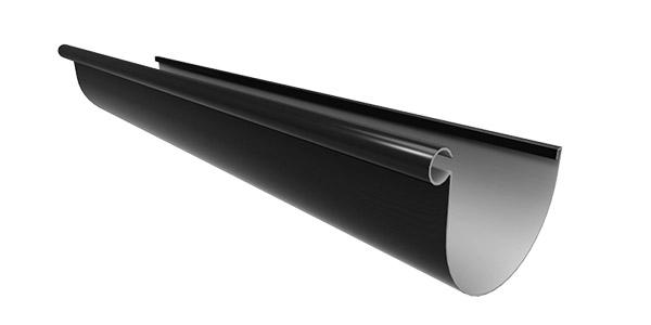 MT1.3.BLK_Marley Typhoon PVC Spouting 4m Black