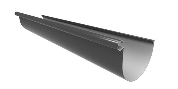 MT1.3.IRO_Marley Typhoon PVC Spouting 4m Ironsand