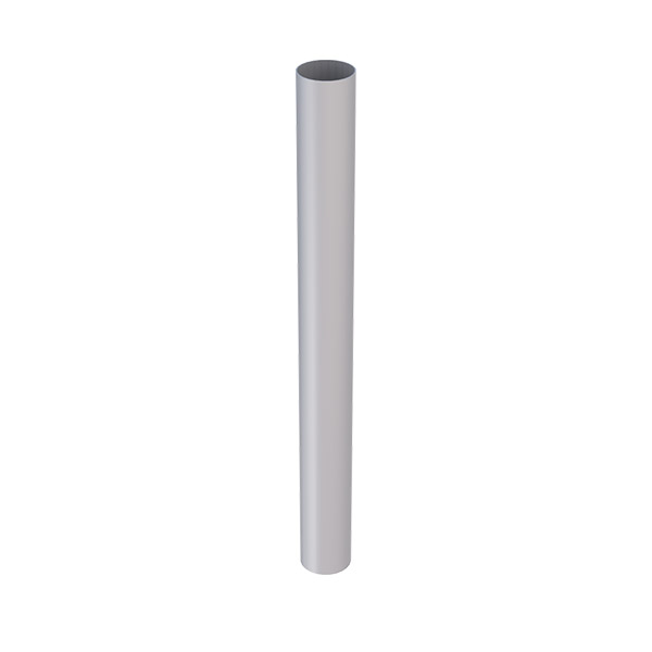 RP80.TTN Marley RP80 PVC Downpipe 80mm 3m Titanium