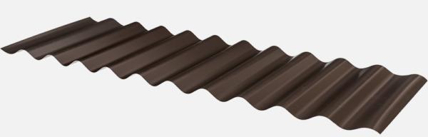 Corrugated iron profile from Sunnyside