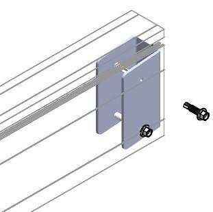 5-degree internal bracket
