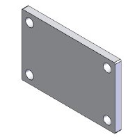 ClearSpan bar end plate