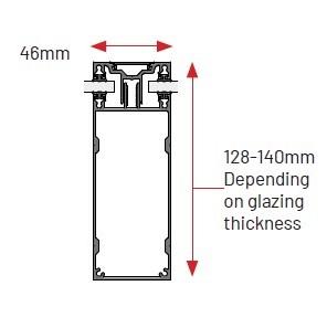 ClearSpan glazing box bar diagram
