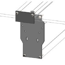 ClearSpan gutter end plate