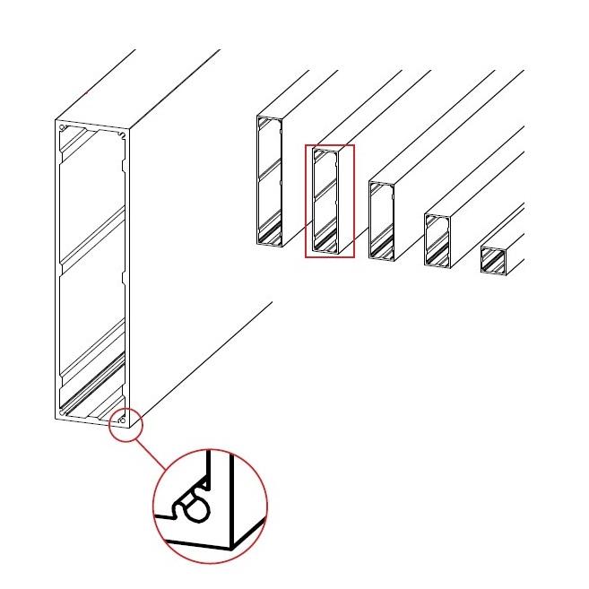 EconoGlaze rafter diagram